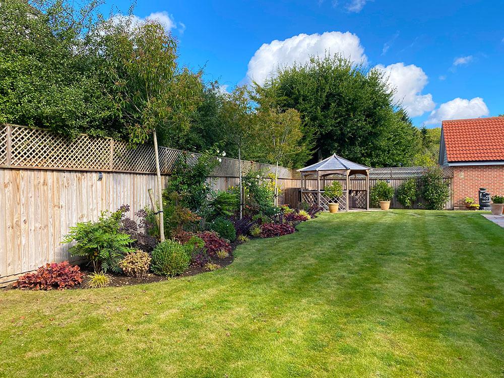 New Build Garden – Essex Garden Designs