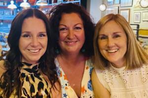 Alex, Tracy & Dawn